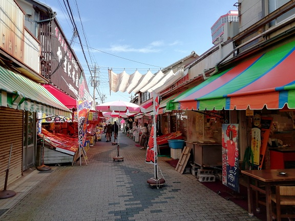 東尋坊商店街